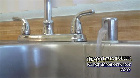 under sink air gap how to stop dishwasher leaking water from sink counter top