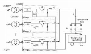 The Main Circuit Schematic Diagram Of Charging System For