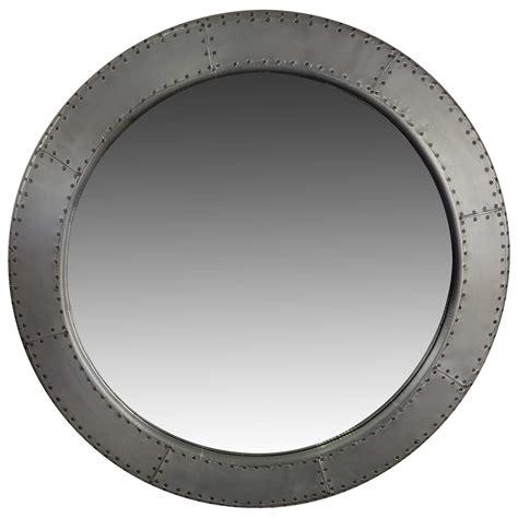 spiegel rund wandspiegel gro 223 silber 216 90 cm alu aviator industrie design airman spiegel m 214 bel