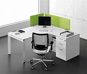White corner office desk decor ideasdecor ideas for Corner desk office
