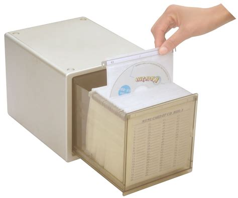 Uzo1one Press Cd Dvd Storage Cabinet Single Drawer