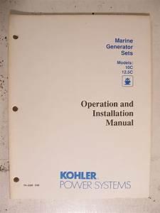 Wiring Database 2020  27 Kohler Marine Generator Parts Diagram