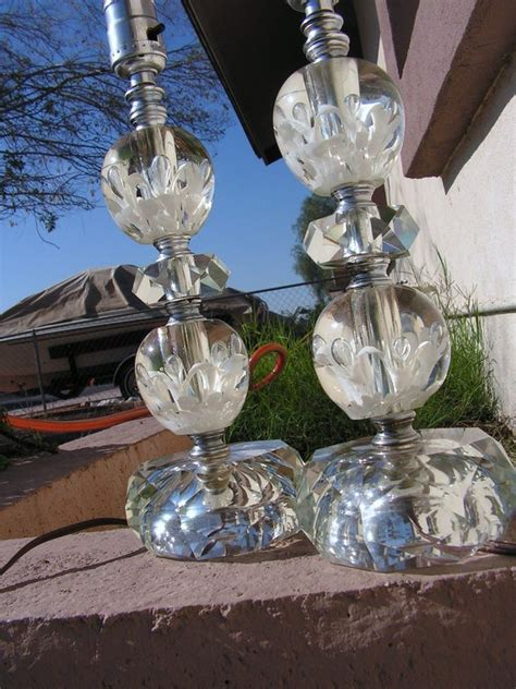 hold reserved vintage st clair glass paperweight lamps