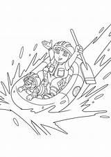 Diego Jaguar Rafting Coloring Going Charger Dodge 1969 Chargers Helmet Netart Getdrawings sketch template