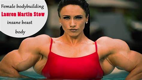 female bodybuilding lauren martin stow female
