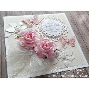 handmade wedding wishes card