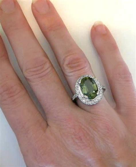 Large Green Tourmaline Engagement Ring (gr9165. 8th Grade Graduation Rings. Star Moon Wedding Rings. 1 10 Carat Wedding Rings. Pom Pom Rings. Roman Rings. Filigree Rings. 14k White Gold Engagement Rings. Princess Disney Wedding Rings