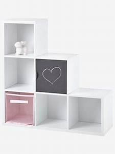Meuble Rangement Case : meubles a cases bacs de rangement enfant rangements enfants vertbaudet ~ Teatrodelosmanantiales.com Idées de Décoration