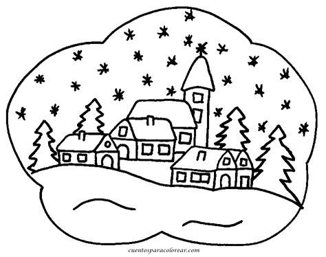 la navidad dibujos  colorear ciclo escolar