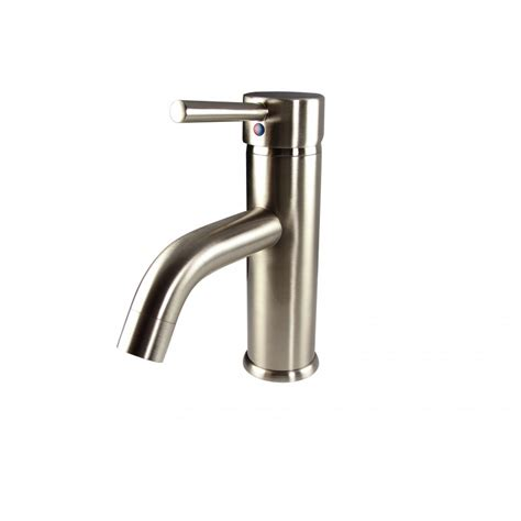 Brushed Nickel Bathroom Faucets Single by Fresca Sillaro Single Mount Bathroom Vanity Faucet
