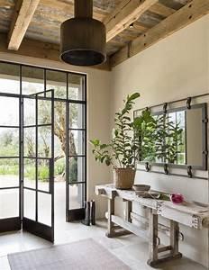 Inspiration D U00e9co  Une Maison Rustique Et Moderne