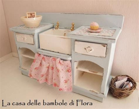 dollhouse kitchen sink robin egg kitchen unit with sink 1 12 dolls house 3422