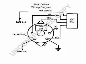 Motorola Alternator Regulator Wiring Diagram