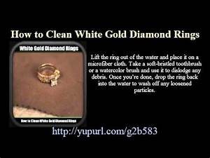 cleaning gold and diamond rings wedding promise With how to clean wedding rings