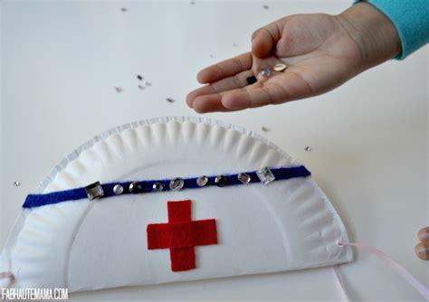 nurse hat craft for preschoolers diy paper plate hat 7 what mj official 863