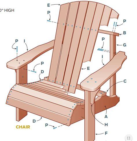 diy adirondack chair and table corner