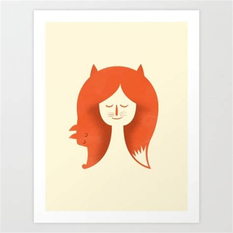 Amazing Art Prints Foxes For Your Walls
