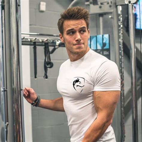 mens summer clothing white cotton t shirt fitness bodybuilding crossfit workout shirts