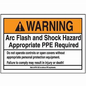 nec arc flash labels on a roll label seton With arc flash hazard label