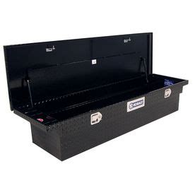 Shop Kobalt Fullsize Black Aluminum Truck Tool Box At