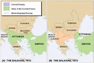 Balkans 1912 1913