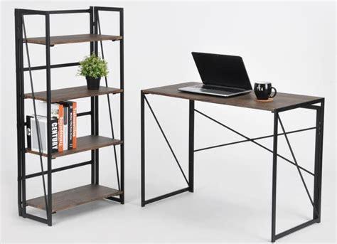 scrivania pieghevole coavas pieghevole scrivania pc in legno pieghevole tavolo