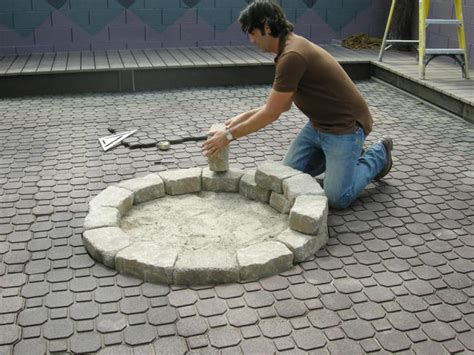 paver pit dimensions how to build a fire pit hgtv