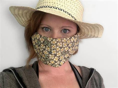 easy  sew face mask bluprint