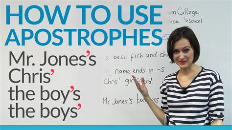 How To Use Apostrophes In English · Engvid