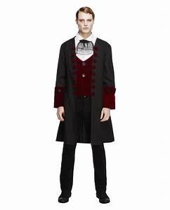 Halloween Kostüm Herren Ideen : gothic vampir herren kost m viktorianischer gehrock mit ~ Lizthompson.info Haus und Dekorationen