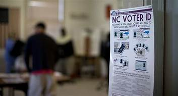 Judge tosses North Carolina mandatory voter ID amendment citing gerrymandering…