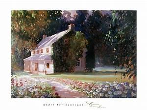La Maison De Mes Reves : la maison de mes reves by andre bertounesque classic prints ~ Nature-et-papiers.com Idées de Décoration