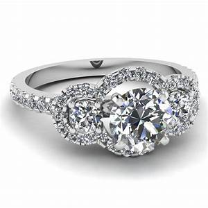 15 best of big diamond engagement rings With big diamond wedding ring sets