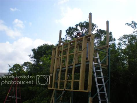 We have now placed twitpic in an archived state. The penthouse deer blind | Deer blind, Shooting house ...
