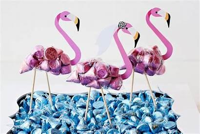 Party Flamingo Favors Diy Hwtm Bridal Regular