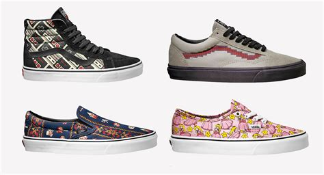 Nintendo Collaborates With Vans For Retro Game-inspired