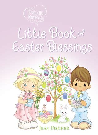 precious moments  book  easter blessings