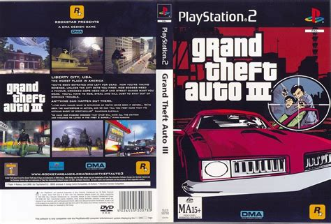 Grand Thef Auto 3 Ps2 (5 Links) (ntsc)