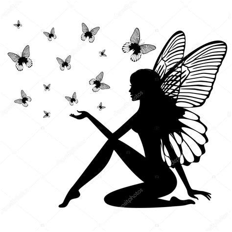 silhouette der maerchen stockvektor  ferdiperdozniy