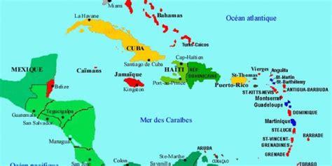Localisation Martinique Carte Monde by Carte Des Antilles Arts Et Voyages