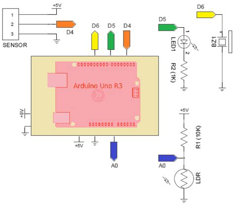 arduino security alarm with pir sensor