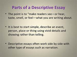Example Thesis Statement Essay Describe An Event Essay Example How To Write A Thesis Sentence For An Essay also English Essays For Kids Describe An Event Essay Top Papers Ghostwriters Sites Toronto  Essay On Science And Technology