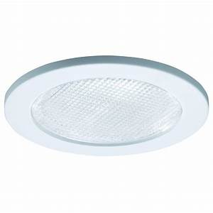 Halo e series in white recessed lighting shower trim