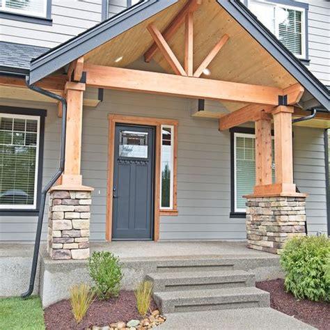 craftsman front porch entryway design ideas remodels