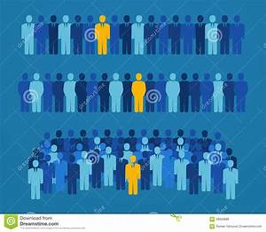Group Of People With A Yellow Candidate For Elective ...