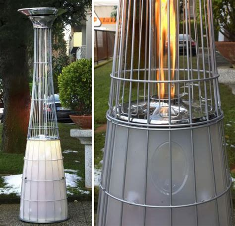 Outdoor Space Gas Heaters By Alpina  Remote Controlled