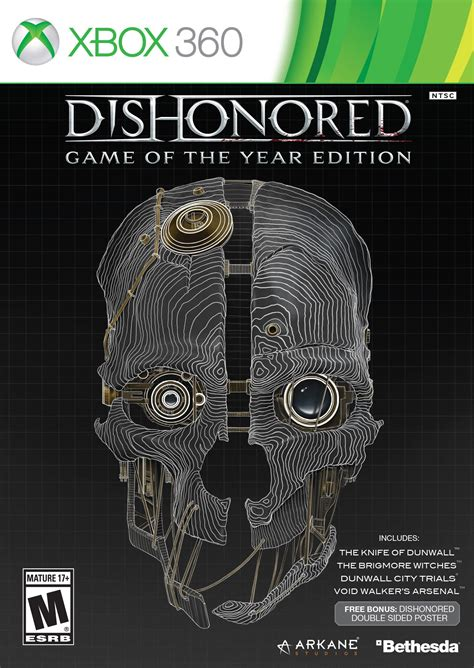 dishonored game   year edition release date xbox