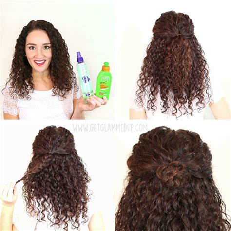 easy quick hairstyles curly hair hairstyles for women