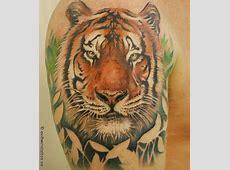 Tatouage Tigre Style Japonais Tattoo Art