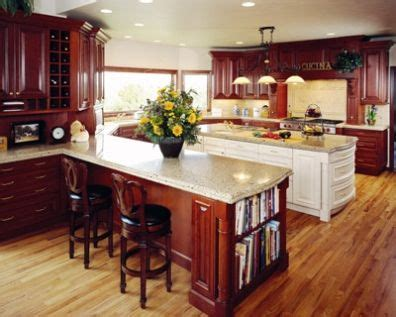 kitchens with cherry cabinets and wood floors ideas for wood cabinets and floors should they 9853
